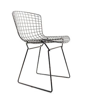 A Harry Bertoia Enameled Wire Chair, for Knoll, (Italian, 1915-1978)