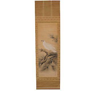 White Hawk Scroll