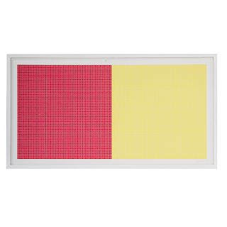 """Sol LeWitt. """"Grids and Color-Plate #8,"""" serigraph"""