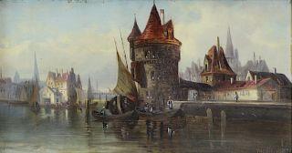 LUDWIG VAN HOOM (DUTCH, 1812-1881).
