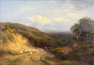 GEORGE COLE (ENGLISH, 1810-1883).