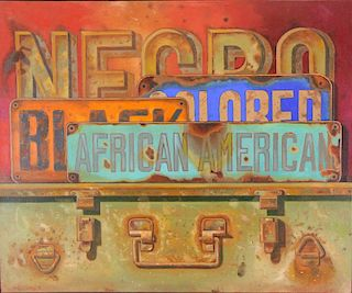 MANUEL HUGHES (AFRICAN AMERICAN, 1938).