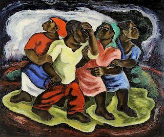 RALPH CHESSE (AFRICAN AMERICAN, 1900-1991).