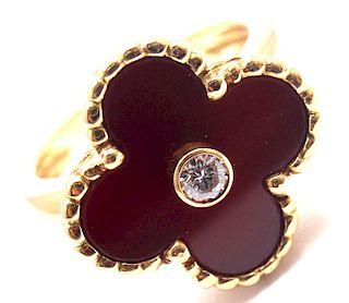 Van Cleef & Arpels Vintage Alhambra 18k Gold Diamond