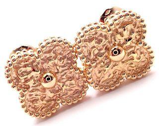VAN CLEEF & ARPELS Vintage Alhambra 18k Rose Gold
