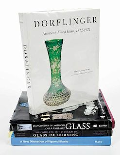 Approximately 100 Cut Glass Books/Catalogs