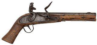 Flintlock Kentucky Pistol