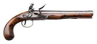 Late 18th Century English Flintlock Pistol