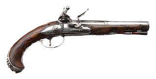 18th Century Germanic Flintlock Pistol