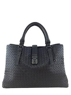 db1013182f3e Bottega Veneta Roma Large Intrecciato Tote Bag · Consigned Designs ...