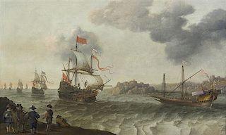 Adam Willaerts, (Dutch, 1577-1664), The Harbor
