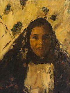 Romualdo Locatelli, (Italian/Indonesian, 1905-1943), Sicilian Woman
