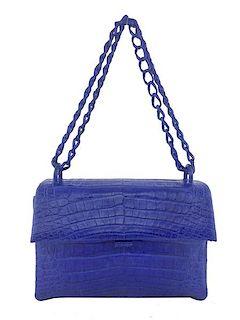 83296d323cb Nancy Gonzalez Crocodile Small Flap Shoulder Bag