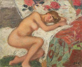 Georges DEspagnat, (French, 1870-1950), Nu couché