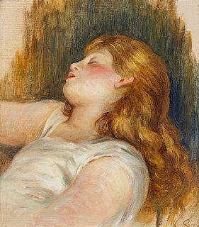 Pierre-Auguste Renoir, (French, 1841-1919), Femme endormie, c. 1890-1894