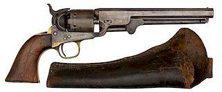 Colt Model 1851 Navy Revolver Inscribed to George Maledon, Deputy Sheriff, Fort Smith, Arkansas