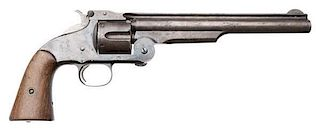 Smith and Wesson Second Model American Top Break Large Frame Revolver