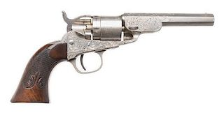 Factory Engraved Colt Pocket Model Navy Conversion Revolver