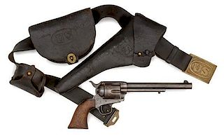 Colt Single Action Army Revolver US Marked With Complete US Issued Rig