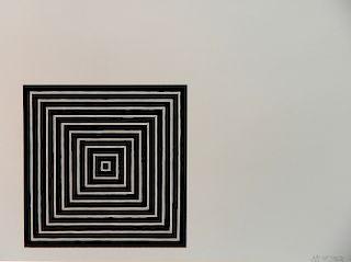 Frank Stella silkscreen