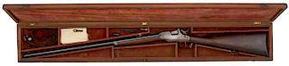 Cased Allen Drop Breech Rifle