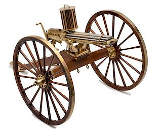 *Furr Arms 1/3 Scale of 1874 Gatling Gun
