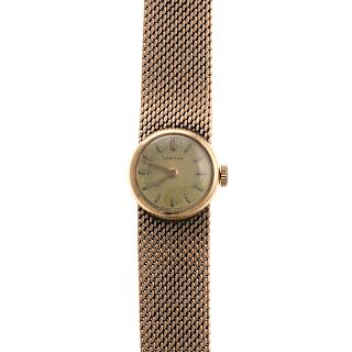 A Ladies 14K Wrist Watch by Certina