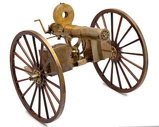 *Furr Arms 1/3 Scale Copy of Model 1883 Gatling Gun