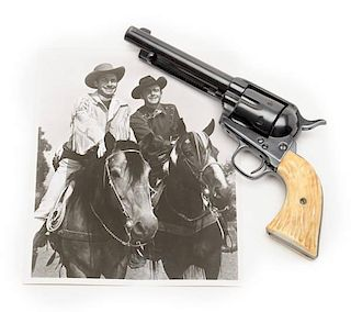 """Colt U.S. Artillery Single Action Army Used During the Filming of """"The Range Rider"""""""