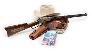 """**Winchester Model 1892 Lever-Action Carbine Used in 1950's TV Series """"Buffalo Bill Jr."""""""