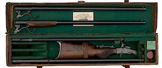 William Read & Sons Cased Maynard Improved Target Rifle No. 16 and Four-Barrel Set