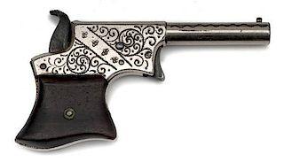 Factory Engraved Remington Vest Pocket Derringer
