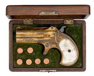 Cased Remington Double Derringer