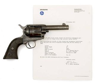 Colt Single Action Army Sheriff's Model Revolver