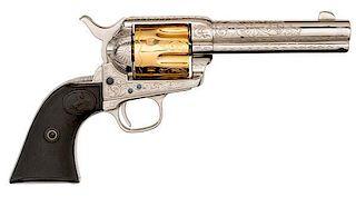 Contemporary Engraved Colt Single Action Army Revolver