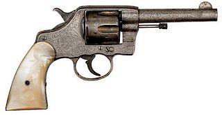 Factory Engraved Colt DA Model 1894
