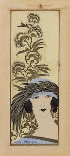 Kees van Dongen, (Dutch, 1877-1968), Tete de femme (Woman in Feathered Hat)