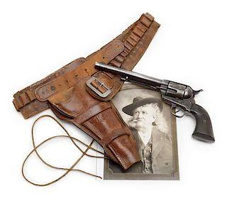 "Colt Single Action Army Revolver, Property of Major John Burke, Associate of William F. ""Buffalo Bill"" Cody"