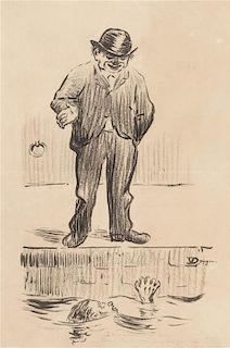 Kees van Dongen, (Dutch, 1877-1968), Un Homme a la Seine
