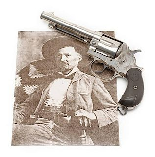 Historic Colt Model 1878 DA Revolver Presented to Sheriff of S.F.