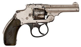 **Smith & Wesson 32 Safety First Model DA Revolver, W.F. Co Marked