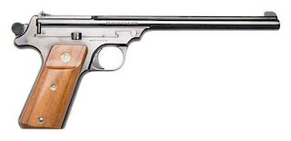 **Smith and Wesson Single-Shot Fourth Model (Straight Line Target) Pistol