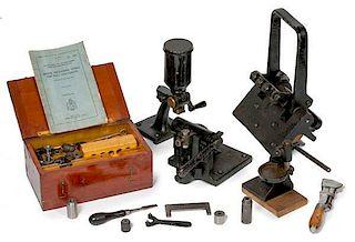 Model 1898 and 1906 .30 Caliber Cartridge Bench Reloader