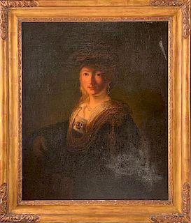 17th/18thc. Dutch School Portrait