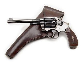 **Rare Smith and Wesson Martially-Marked U.S. Army Model 1899 Double-Action Revolver