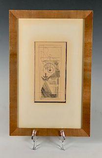 Marcel Duchamp Etching
