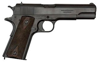 **Colt Model 1911 Commercial Pistol with British Proofs