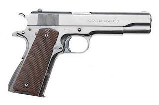 **Colt Pre-war .38 Super Semi-Automatic Pistol with Factory Letter