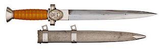 German WWII Red Cross Leader's Dagger