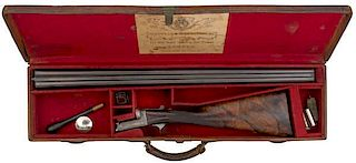Cogswell and Harrison Extra Quality Boxlock Shotgun